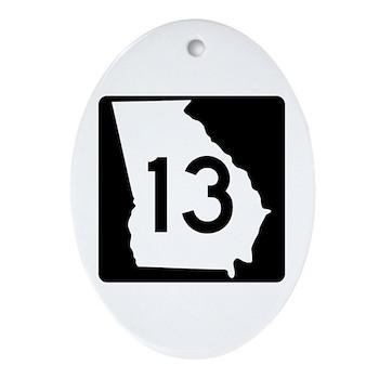 State Route 13, Georgia Oval Ornament