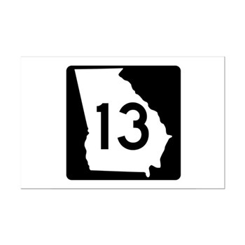 State Route 13, Georgia Mini Poster Print