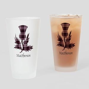 Thistle-MacPherson hunting Drinking Glass