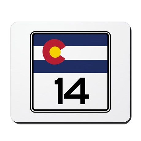 State Highway 14, Colorado Mousepad