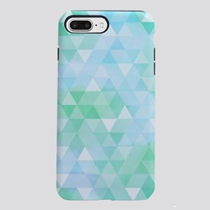 Blue Green Prism iPhone 7 Plus Tough Case