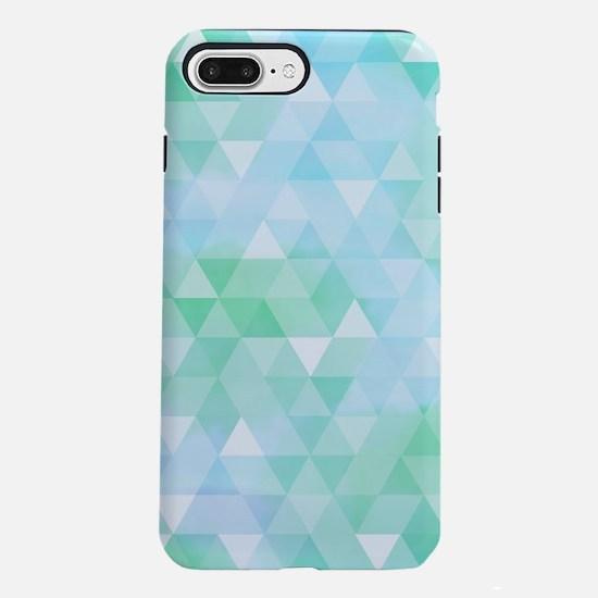 Blue Green Prism iPhone 7 Plus Tough Case