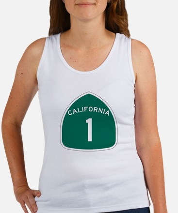 State Route 1, California Women's Tank Top