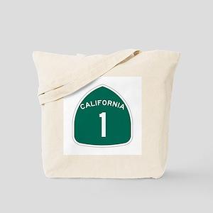 State Route 1, California Tote Bag