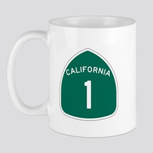 State Route 1, California Mug
