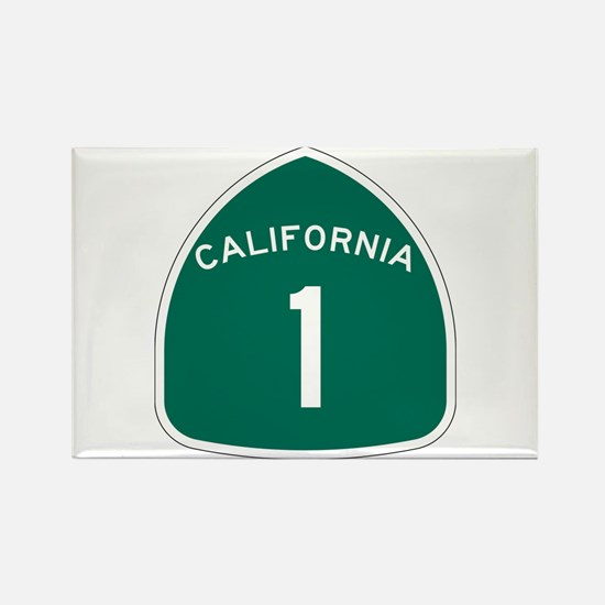 State Route 1, California Rectangle Magnet