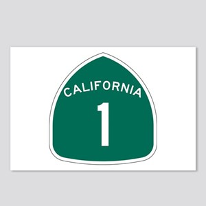 State Route 1, California Postcards (Package of 8)