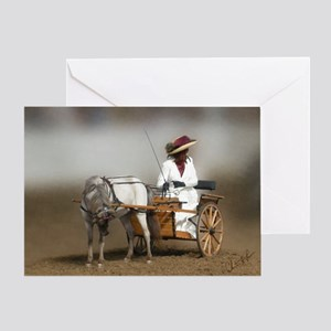 Sunday Go To Meeting Greeting Card