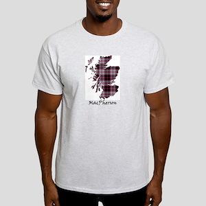 Map-MacPherson hunting Light T-Shirt