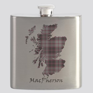 Map-MacPherson hunting Flask