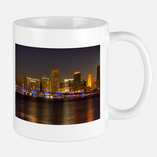 Miami at Night Mug