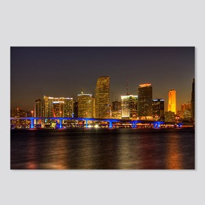 Miami at Night Postcards (Package of 8)