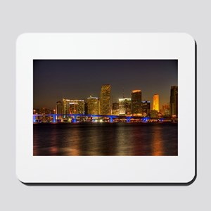 Miami at Night Mousepad