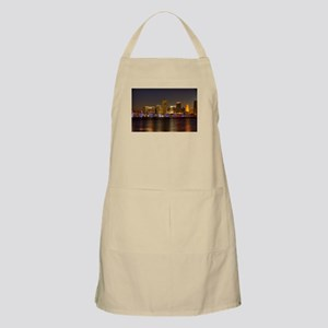 Miami at Night BBQ Apron