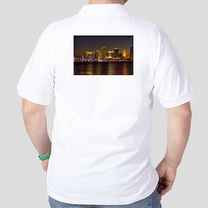 Miami at Night Polo Shirt