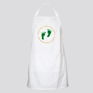 Carbon Footprint Renewable En BBQ Apron