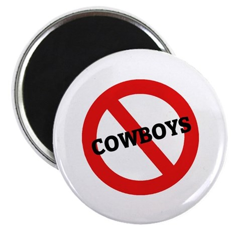 Anti-Cowboys Magnet