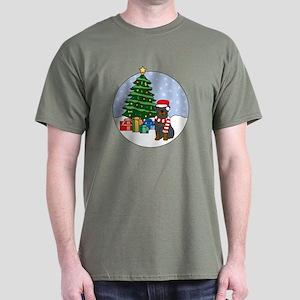 Rottweiler Christmas Dark T-Shirt