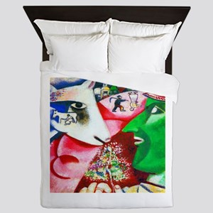 Marc Chagall Me and the Village Queen Duvet