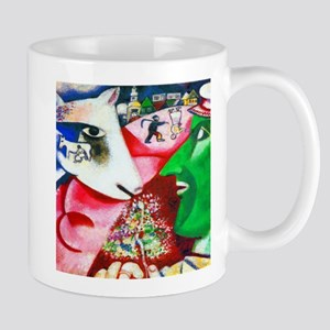 Marc Chagall Me and the Village Mugs