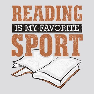 Reading Is My Favorite Sport 8x10 Photo to Canvas