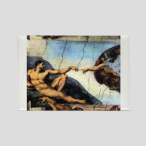 Michelangelo Creation Of Ada Magnets