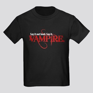 Say It Out Loud. Say It. Vamp Kids Dark T-Shirt