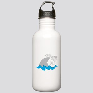 Crazy Shark Lady Stainless Water Bottle 1.0L