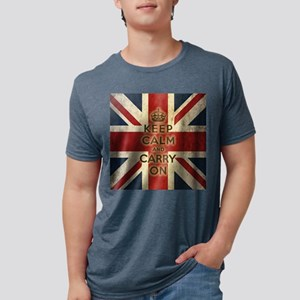 Vintage Keep Calm And Carry On T-Shirt