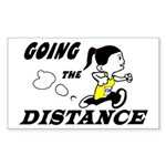 Julie Going The Distance Sticker