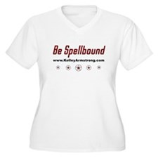 Be Spellbound Women's Plus Size V-Neck T-Shirt