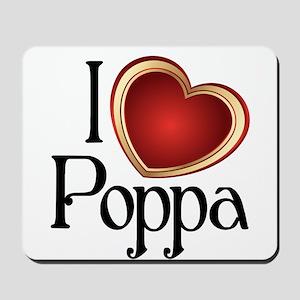I heart Poppa Mousepad