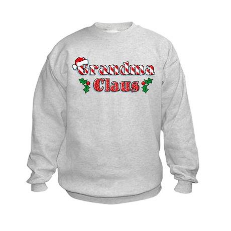 Grandma Claus Kids Sweatshirt