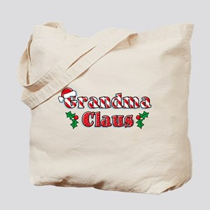 Grandma Claus Tote Bag