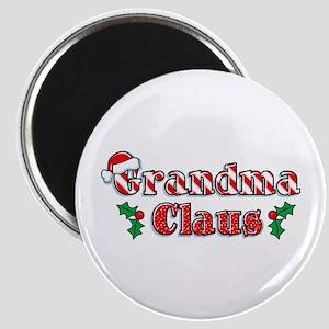 Grandma Claus Magnet