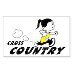Julie Cross Country Sticker