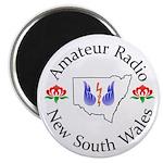 Amateur Radio NSW Logo Magnets