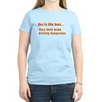 Sex is like beer Women's Light T-Shirt
