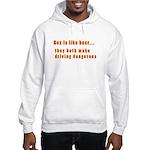 Sex is like beer Hooded Sweatshirt