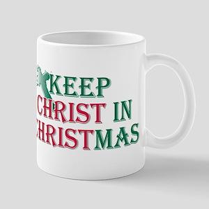 Keep Christ cross 11 oz Ceramic Mug