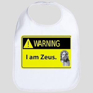 Warning: I am Zeus Bib