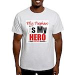 Lung Cancer Hero (Nephew) Light T-Shirt