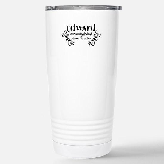 Twilight Edward Lovely Stainless Steel Travel Mug
