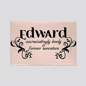 Twilight Edward Lovely Rectangle Magnet