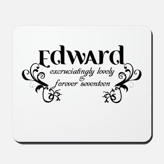 Twilight Edward Lovely Mousepad