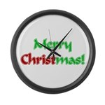 Christ in Christmas Large Wall Clock