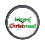 Christ in Christmas Wall Clock
