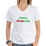 Christ in Christmas Women's V-Neck T-Shirt