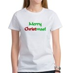 Christ in Christmas Women's T-Shirt
