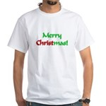 Christ in Christmas White T-Shirt